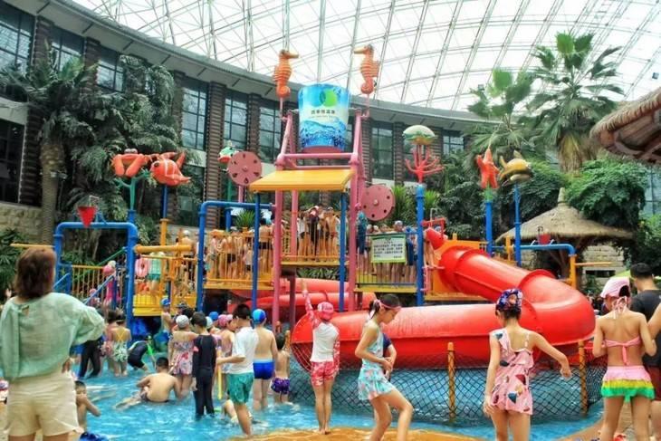 【苏州】2019苏州乐园室内温泉水世界全天儿童票仅售49.9元/人!