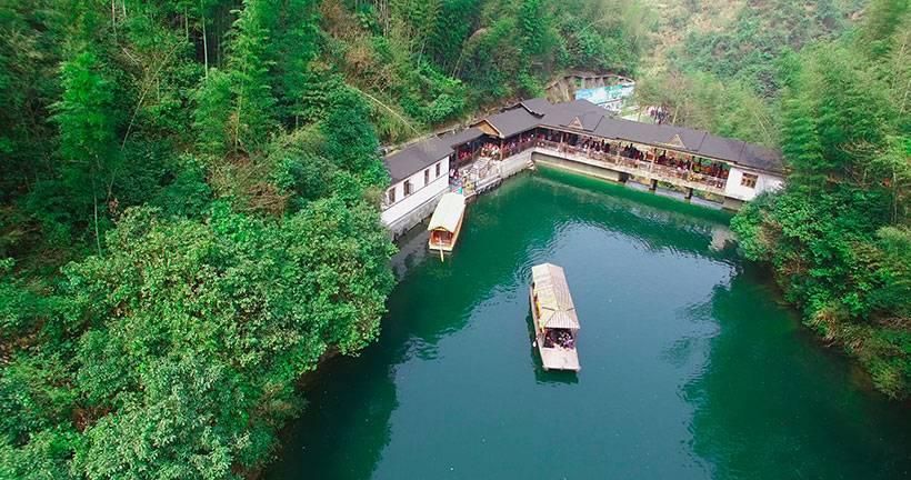 湖南省长沙市浏阳社港镇周洛大峡谷风景区