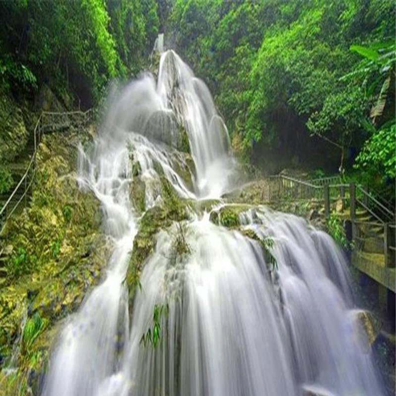 天子山瀑布大门票 悬崖秋千 丛林彩虹玻璃滑道