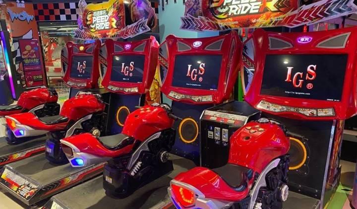 【汉口菱角湖-五一可用】49.9元抢大玩家电玩城100个游戏币!投篮、街机、赛车、娃娃、K歌等,玩穿整个动漫城,多种设施一次性玩到嗨~