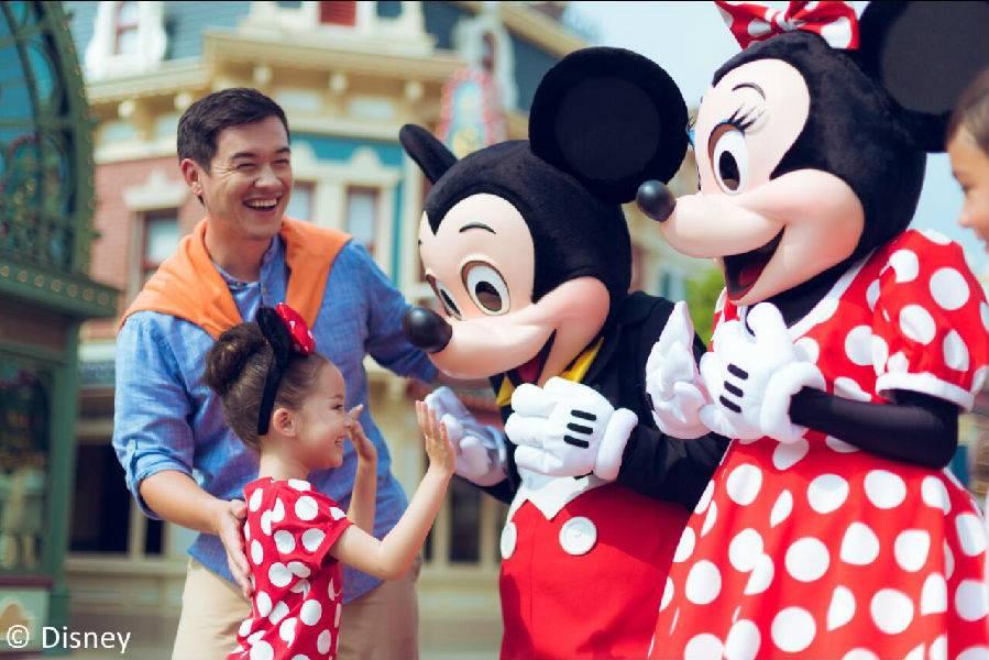 香港迪士尼乐园特惠2日标准门票+二合一餐券电子套票 有效期至2019年6月30日