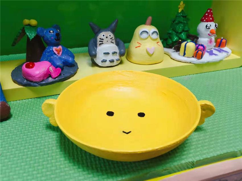 【广州】暑假特惠!¥38.8抢巧手丫原价85元陶艺DIY2大1小套餐