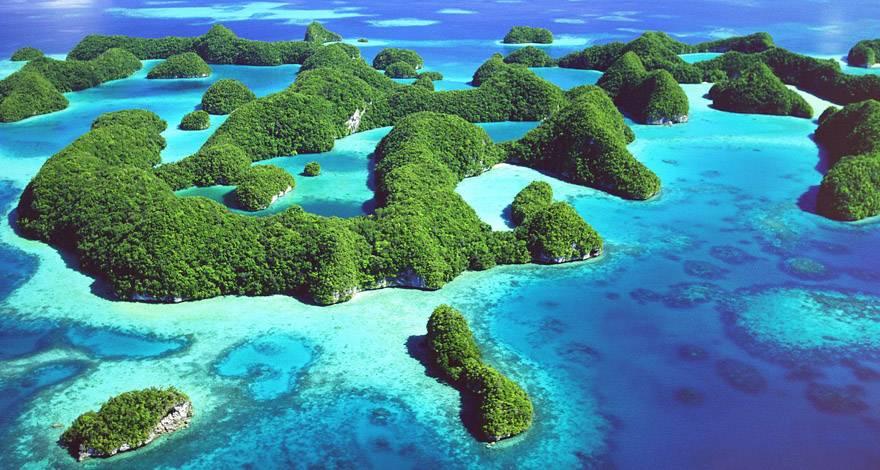彩虹故乡 七彩帕劳(Palau)群岛【五星假日酒店】六天五晚〔澳门狮航直飞〕
