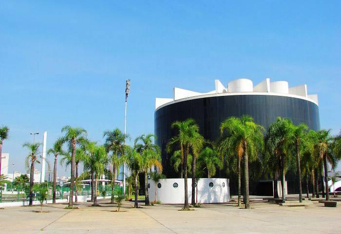 南美四国游景点_巴西拉美议会大厦
