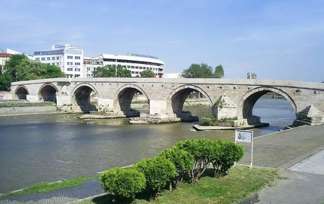马其顿-斯科普里-石桥