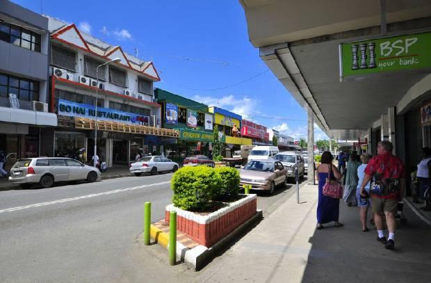 斐济南迪市区