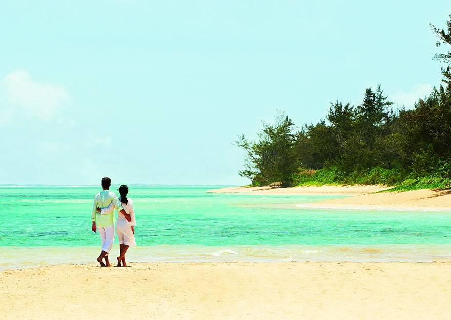 毛里求斯索菲特特色酒店-沙滩