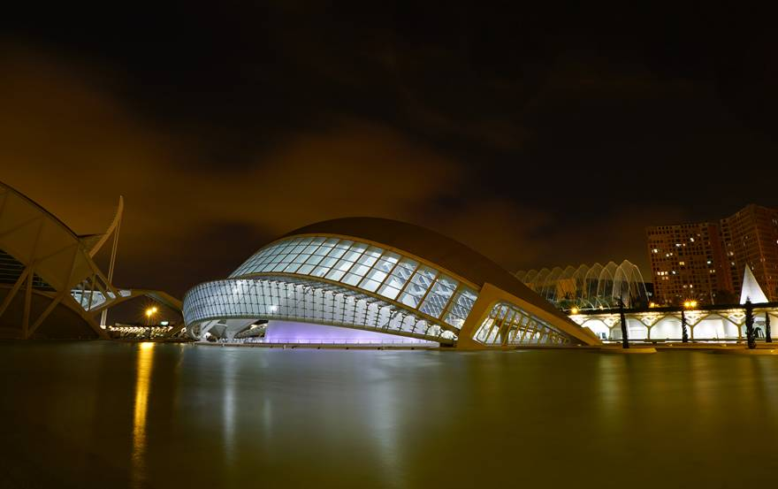 西班牙葡萄牙旅游十日:西班牙-瓦伦西亚【艺术与科学城】
