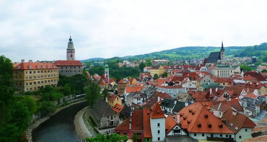 欧洲六国游景点-捷克-克鲁姆洛夫(CESKY KRUMLOV)古镇
