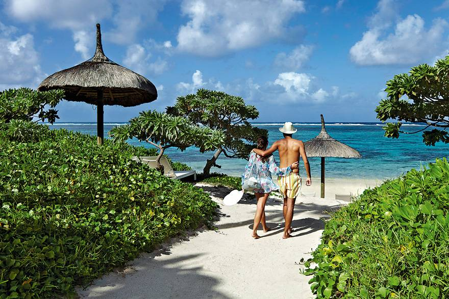 毛里求斯希尔顿度假村-沙滩