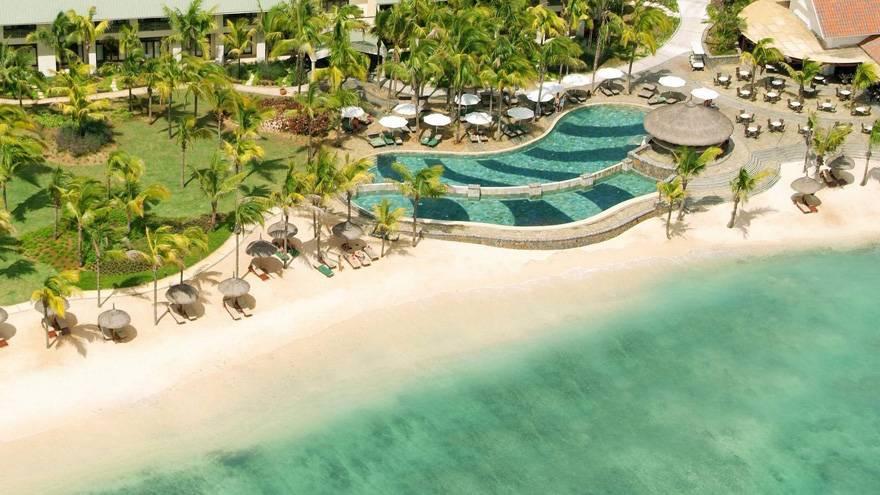 毛里求斯艾美度假村-沙滩
