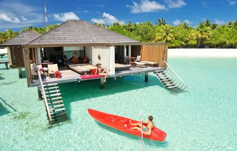 马尔代夫天堂岛水上别墅  Water Villa