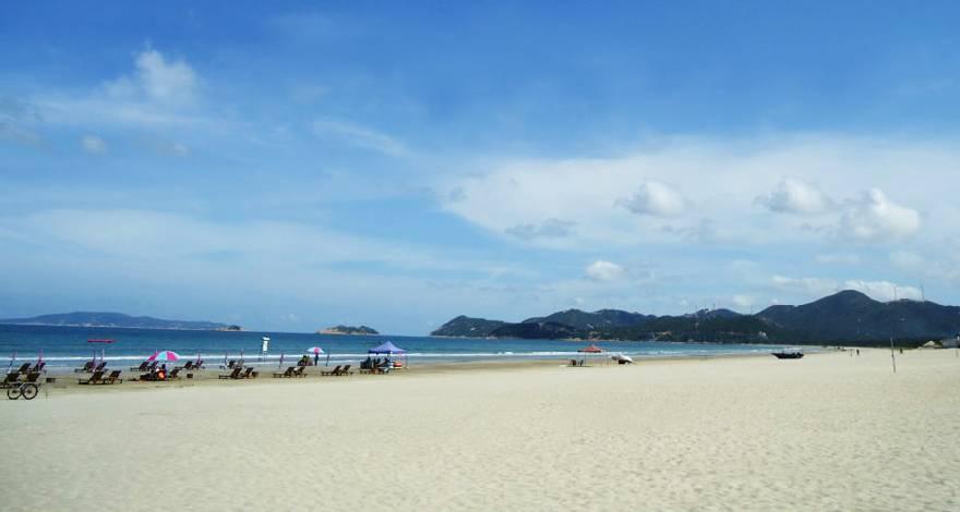 台山上川岛二天游_上川岛飞海滩