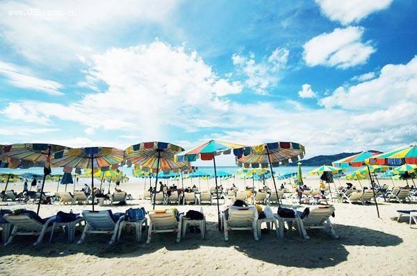 普吉海滩风光