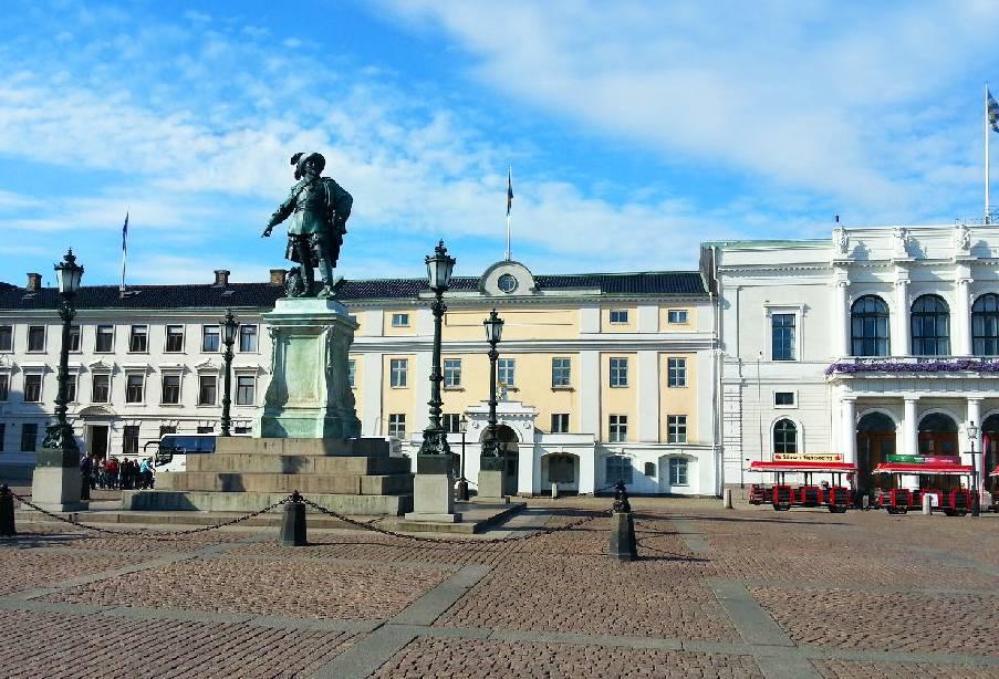 丹麦哥本哈根-古斯塔夫阿道夫广场