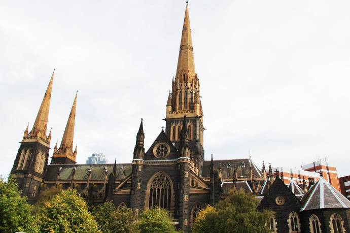 墨尔本-圣派克大教堂