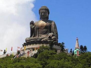 香港大屿山游景点:天坛大佛