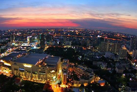 泰国6天游_泰国曼谷夜景