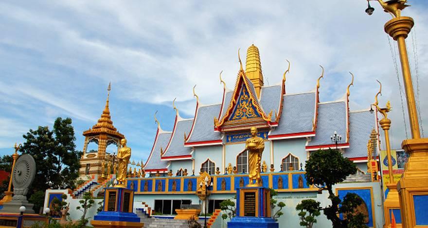 新马泰十日游:泰国金佛寺