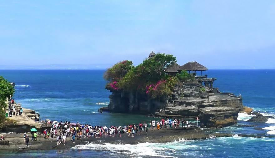 巴厘岛5日游景点-海神庙