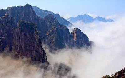 黄山四天游景点_安徽黄山-西海大峡谷