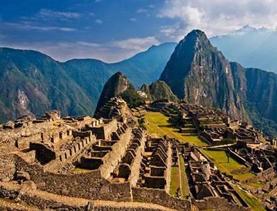 秘鲁古城马丘比丘古城