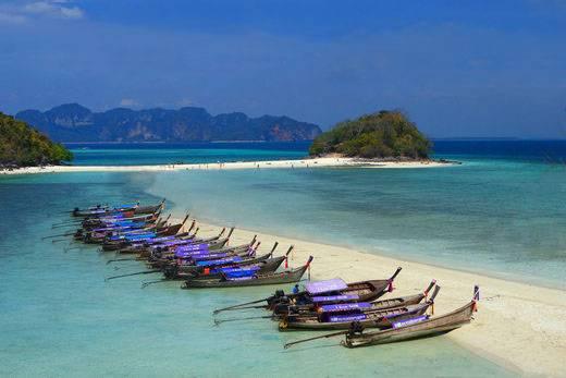 泰国甲米、普吉 6天游:泰国甲米岛
