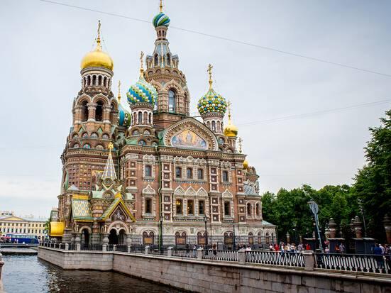 俄罗斯、土耳其全景深度18天游:俄罗斯滴血大教堂