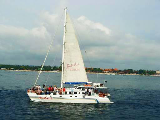 巴厘岛6天游:印尼巴厘岛帆船出海