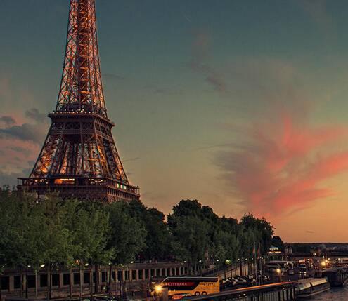 欧洲四国游_法国埃菲尔铁塔