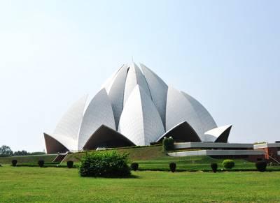印度6天游景点:莲花庙