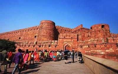印度阿格拉城堡(红堡)
