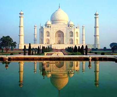 印度6日游景点:世界建筑之奇迹泰姬陵