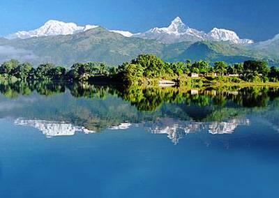 尼泊尔6天游:尼泊尔博卡拉风光