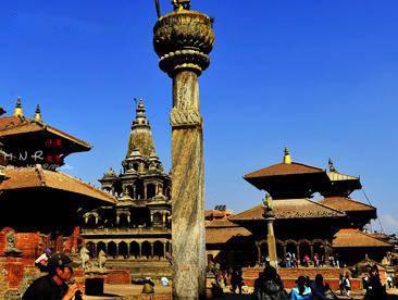 印度尼泊尔旅游景区_加德满都