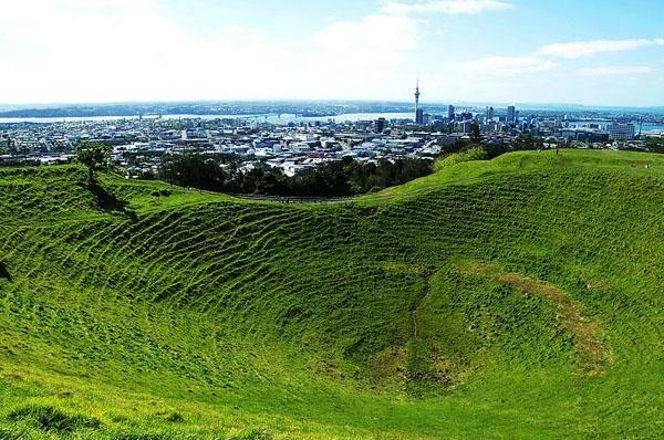 新西兰伊甸山