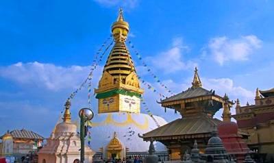 印度尼泊尔旅游景区_尼泊尔斯瓦扬布纳达寺