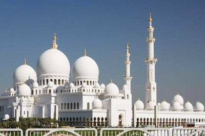 迪拜6天3晚景點_阿聯阿布扎比-謝赫扎伊德清真寺