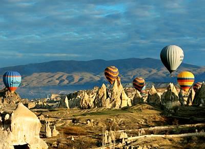 土耳其12天全景游:土耳其卡帕多奇亚-古罗密天然博物馆
