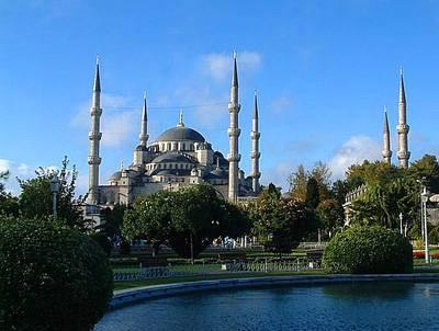 土耳其阿联酋15天游:土耳其蓝色清真寺