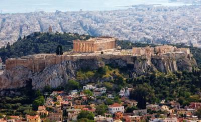 希腊8天游景点:希腊雅典卫城