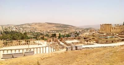 以色列约旦 10天游:以色列杰拉什