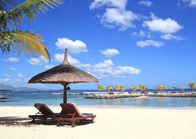 毛里求斯四季度假村-沙滩