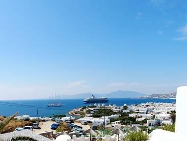 希腊米克诺斯岛-风车
