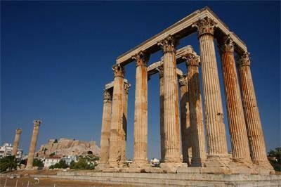 希腊奥林匹亚宙斯神殿