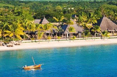 毛里求斯四季度假村-水上活动