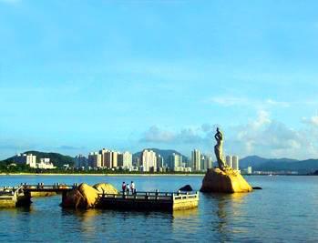 深珠联游三天景点:珠海渔女