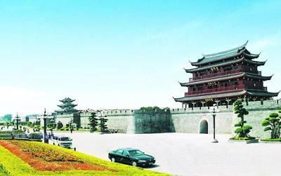 潮州古城墙