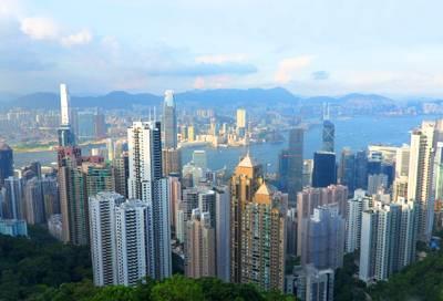 香港海洋公园两日游景点:维多利亚港