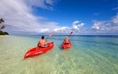 斐济洛玛尼度假村-水上活动